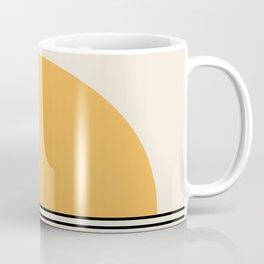Sunrise / Sunset - Yellow & Black Coffee Mug
