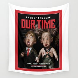 BROS OF THE YEAR: Donald Trump - Vladimir Putin Wall Tapestry
