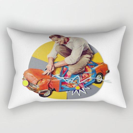 Mr Fixit   Collage Rectangular Pillow