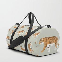 Tiger Trendy Flat Graphic Design Duffle Bag