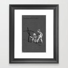 Janet And John Play The Blair Witch Project Framed Art Print