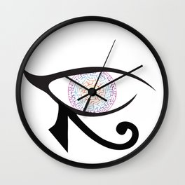 Mother's Eye Wall Clock