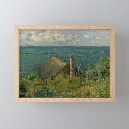 """Claude Monet """"La Cabane de Saint-Adresse"""" Framed Mini Art Print"""