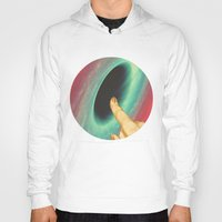 thrones Hoodies featuring Black holes and revelations by Laura Nadeszhda