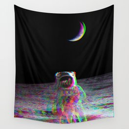 COLORFUL MOONS Wall Tapestry