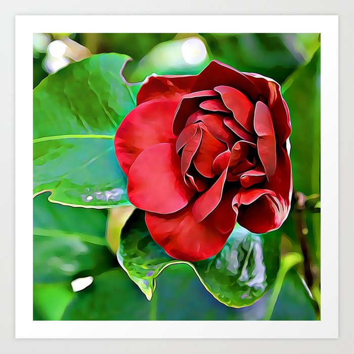 A Rose To Ignite Passion Art Print
