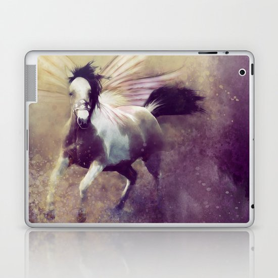 RIDING THE STORM OUT Laptop & iPad Skin