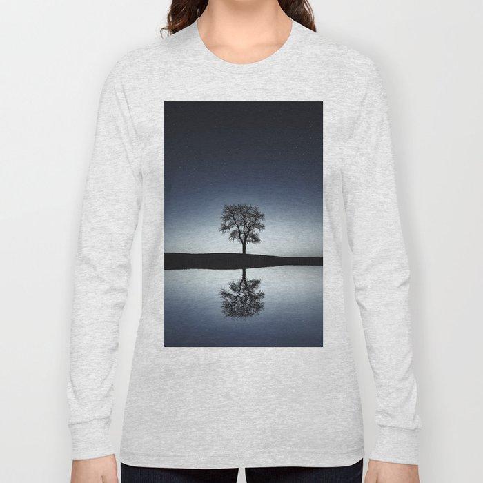 Reflective Individual Long Sleeve T-shirt