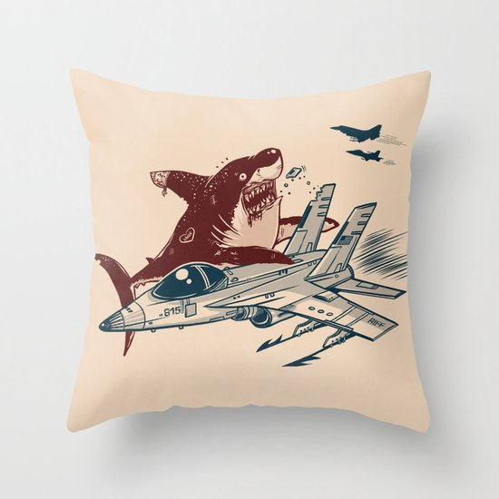 West Side Rumble Throw Pillow