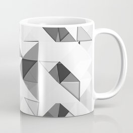 Triangular Deconstructionism Light Mono Coffee Mug