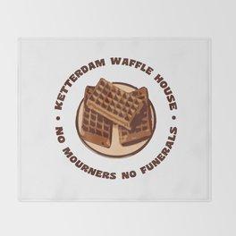Ketterdam Waffle House Throw Blanket