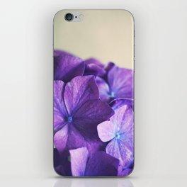 Vintage Hydrangena iPhone Skin