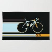 bike Area & Throw Rugs featuring Bike by Wyatt Design