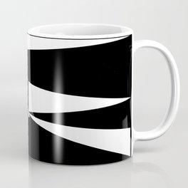Triangles in Black and White Coffee Mug