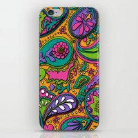 paisley iPhone & iPod Skins featuring Paisley by Shelly Bremmer