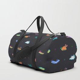 Sea slug - black Duffle Bag