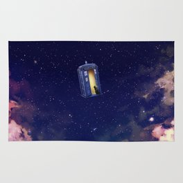 TARDIS STARRY NIGHT Rug