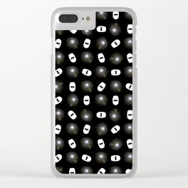 TIG Welding Pattern Clear iPhone Case
