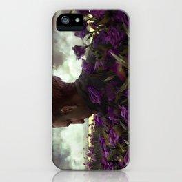 Isaac lisianthus iPhone Case
