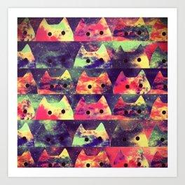 cats 22 Art Print