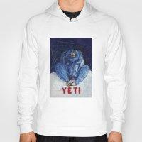 yeti Hoodies featuring Yeti by ----
