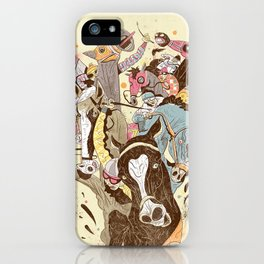 The Great Horse Race! iPhone Case