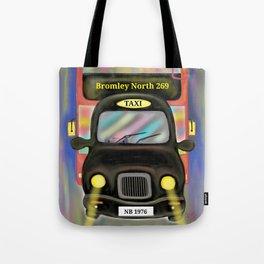 London Commute Tote Bag