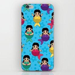 Chubby Mermaids iPhone Skin