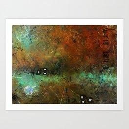Surface and Shape #1 Art Print