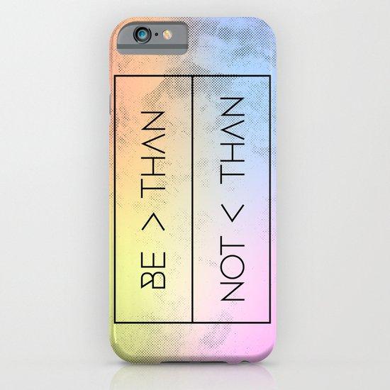 GREATER [RAINBOW] iPhone & iPod Case