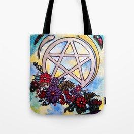 3d pentacle Tote Bag