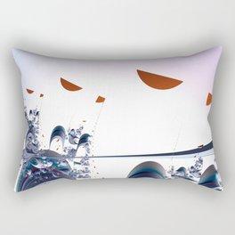 Sending messages Rectangular Pillow