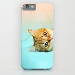 Amelia, the cat iPhone Case