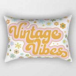 Vintage Vibes Rectangular Pillow