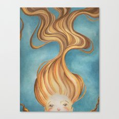 Bed head  Canvas Print