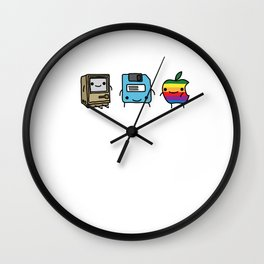 The Three Best Friends Wall Clock