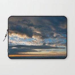 Vibrant Sunrise Cloudscape Laptop Sleeve