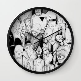 Waiting for the Bus Wall Clock