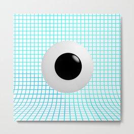 Clear Eye - Graph Paper Metal Print