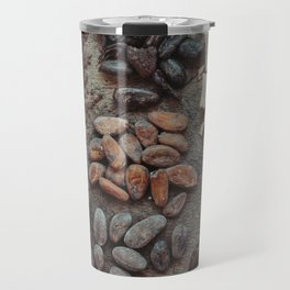 Cacao, beans, chocolate Travel Mug