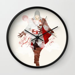 Assassins Creed: Ezio Auditore da Firenze Wall Clock