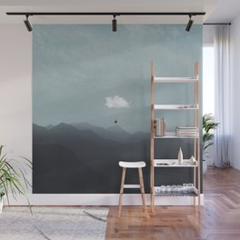 cloud  gliding Wall Mural