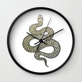 Snake's Charm Wall Clock