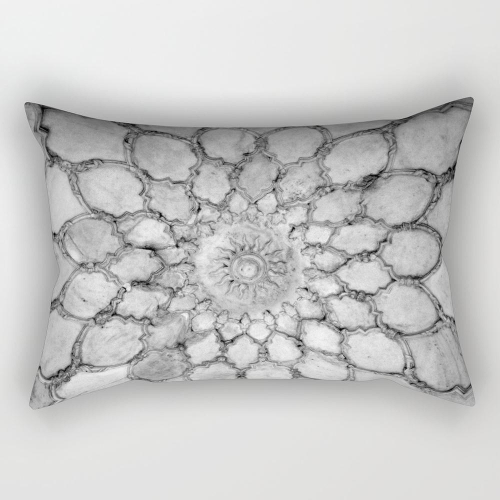 Ivory Carving Rectangular Pillow RPW784492