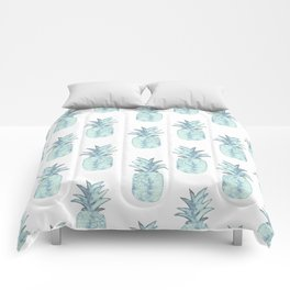 Turquoise Pineapple Comforters