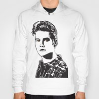 stiles stilinski Hoodies featuring Stiles Stilinski Teen Wolf Design by ShondraHilliard.com