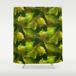 ivy pattern -03- Shower Curtain