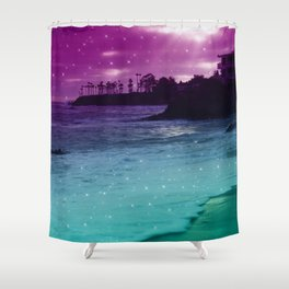 counting stars Shower Curtain