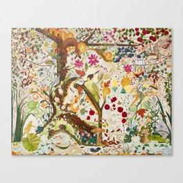 Fantasy Jacobean Forest Canvas Print