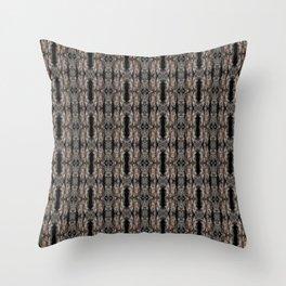 Pine Bark Pattern by Debra Cortese Design Throw Pillow